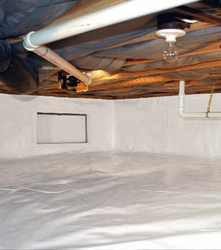 crawl space repair system in Massey Drive